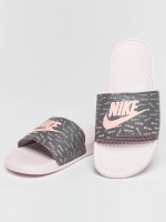 Nike Sandalen Benassi Just Do It rosa
