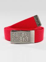 Seven Nine 13 Belts Jaws Stretch red