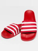 adidas originals Slipper/Sandaal Stripy rood