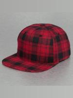 Bangastic snapback cap Checked rood
