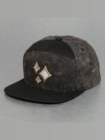 Bangastic Snapback Caps Acid Wash czarny
