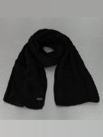 Bench Sjal/tørkler Careen Cable Knit svart