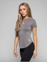 Beyond Limits T-shirt Statement grigio