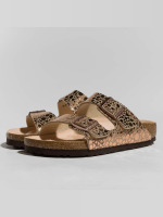 Birkenstock Sandals Arizona BF Metallic Stones brown