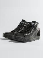 British Knights Sneaker Slider PU Suede schwarz