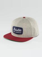 Brixton Snapback Caps Jolt harmaa