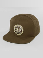 Brixton Snapback Caps Rival khaki