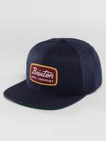 Brixton Snapback Caps Jolt niebieski