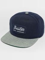Brixton Snapback Caps Jolt sininen