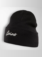 Carhartt WIP Hat-1 Stray Script black