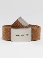 Carhartt WIP Opasky Clip hnedá