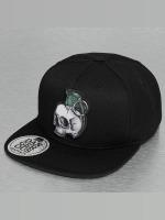 Dangerous DNGRS Snapback Cap Skull nero