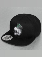 Dangerous DNGRS Snapback Cap Skull schwarz