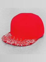 Decky USA Casquette Snapback & Strapback Bandanna rouge