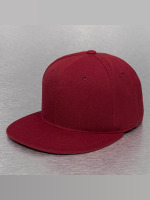 Decky USA Fitted Cap USA Flat Bill červený