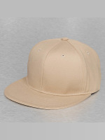 Decky USA Fitted Cap Flat Bill hnědožlutý
