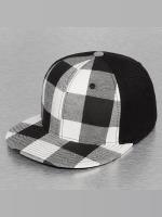 Decky USA Flexfitted Cap Plaid Flat Bill zwart