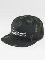 DEDICATED Snapback Cap Dark Leaves schwarz