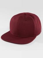 DEF Snapback Cap Basic rosso