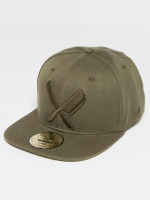 Distorted People Casquette Snapback & Strapback Barber & Butcher olive