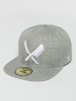 Distorted People Snapback Cap Barber & Butcher grey