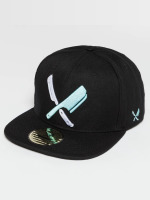 Distorted People snapback cap Barber & Butcher zwart