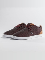 Djinns Baskets Low Lau rouge