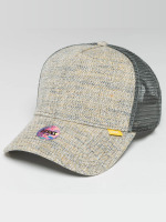Djinns Casquette Trucker mesh Colored Linen gris