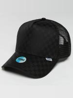 Djinns Casquette Trucker mesh HFT Tie Check noir