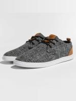 Djinns Sneaker Low Lau Colored Linen schwarz