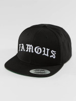 Famous Stars and Straps snapback cap Old zwart