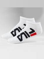 FILA Chaussettes 2-Pack Invisible blanc