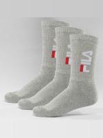 FILA Ponožky Tennis 3-Pair šedá