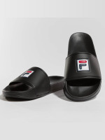 FILA Slipper/Sandaal Palm Beach zwart