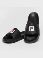 FILA Slipper/Sandaal Base Palm Beach zwart