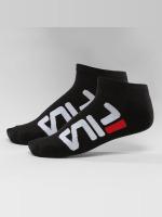 FILA Socken 2-Pack Invisible schwarz