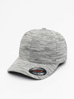Flexfit Casquette Flex Fitted Spripes Melange gris