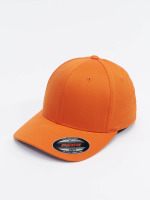 Flexfit Casquette Flex Fitted Wooly Combed orange