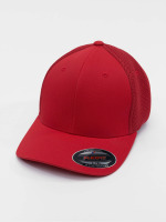 Flexfit Casquette Flex Fitted Tactel Mesh rouge