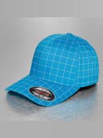 Flexfit Casquette Flex Fitted Square Check turquoise