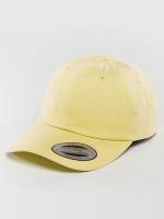 Flexfit Casquette Snapback & Strapback Peached Cotton Twill jaune