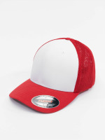 Flexfit Flexfitted Cap Mesh Colored Front rood