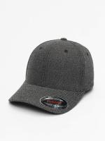 Flexfit Flexfitted Cap Melange schwarz