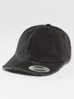 Flexfit Snapback Cap Low Profile Destroyed black