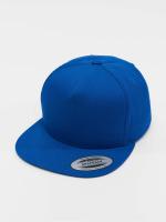 Flexfit Snapback Cap Classic 5 Panel blau