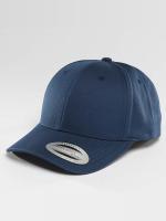 Flexfit Snapback Cap Curved Classic blau