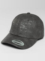 Flexfit Snapback Cap Low Profile Coated grau