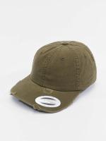 Flexfit Snapback Cap Low Profile Destroyed olive