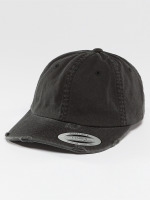 Flexfit Snapback Cap Low Profile Destroyed schwarz