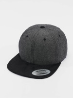 Flexfit snapback cap Chambray Suede zwart